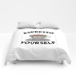 Espresso Yourself | Coffee Mug Funny Gift Idea Comforters