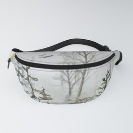 Rocks, pines and spirits Fanny Pack