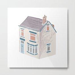 Little Village House Metal Print
