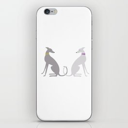 Whippet Love iPhone Skin
