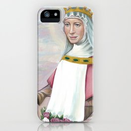 Saint Elizabeth of Hungary iPhone Case