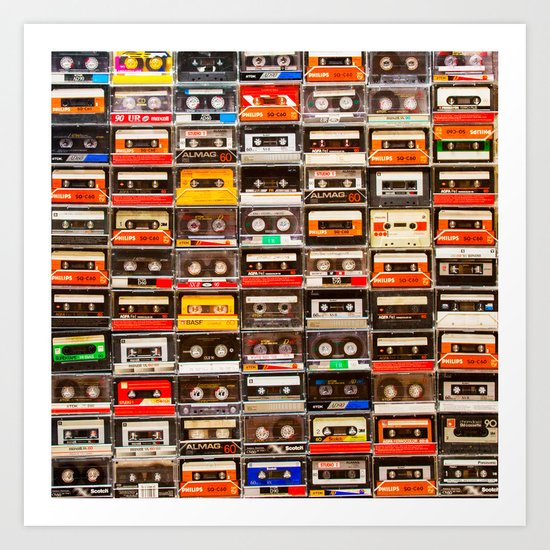 Something Nostalgic V - Music - Global Language #decor #society6 #buyart by pivivikstrm
