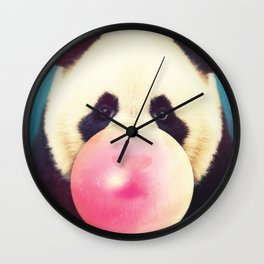 Panda Pop Wall Clock