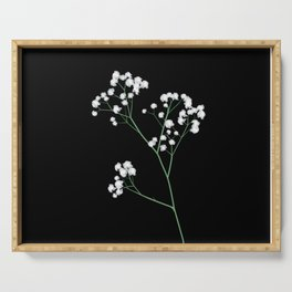 Baby's Breath Serving Tray