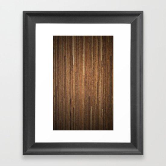 Wood #2 Framed Art Print