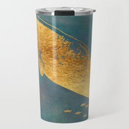 Deep Sea Life Whale Travel Mug