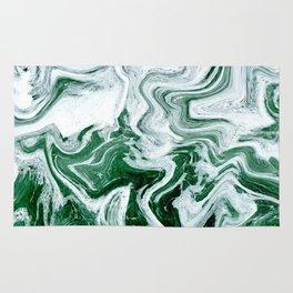 Green Ocean Marble Rug