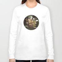 macarons Long Sleeve T-shirts featuring Macarons (Ladurée) by Nick De Clercq