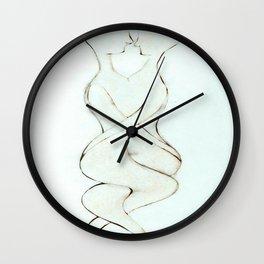 U and I Wall Clock