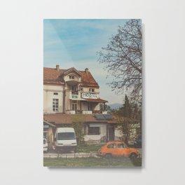 Hostel Metal Print