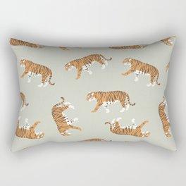 Tiger Trendy Flat Graphic Design Rectangular Pillow