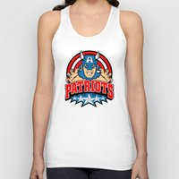 patriots Tank Tops featuring Patriots by Buby87