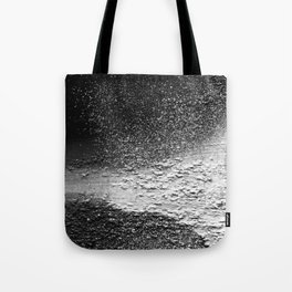Splatter-Black Tote Bag