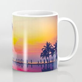 Miami sunset Coffee Mug