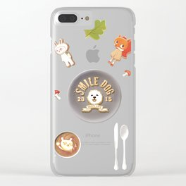 SmileDog Icing Cookies Clear iPhone Case