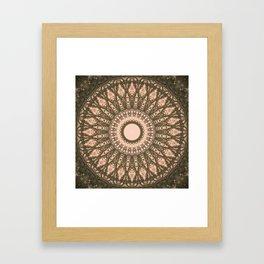MANDALA NO. 28 #society6 Framed Art Print
