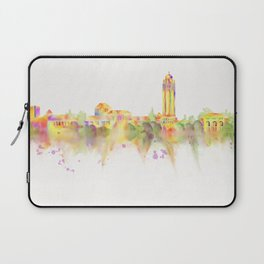 Colorful Stanford California Skyline - University Laptop Sleeve