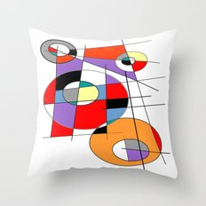 Abstract #37 Throw Pillow