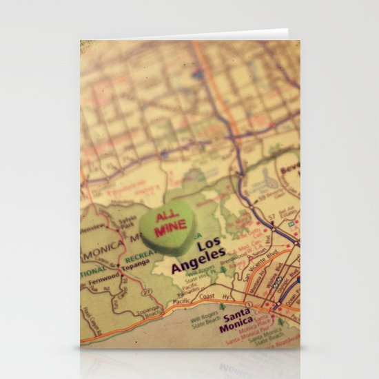 All Mine Los Angeles Stationery Cards