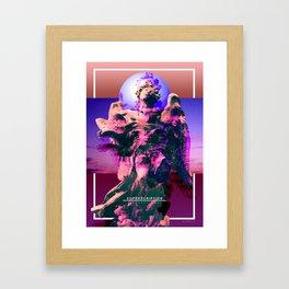 Superscription Framed Art Print