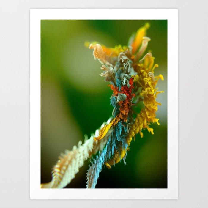 Microplants Metasefolia Art Print