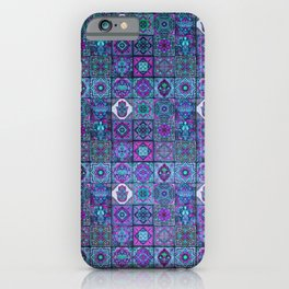 V14 Traditional Moroccan Pattern ART Design. iPhone Case