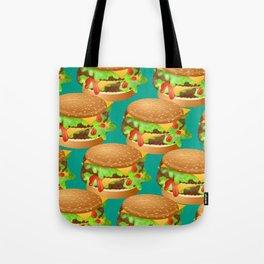 Double Cheeseburgers Tote Bag