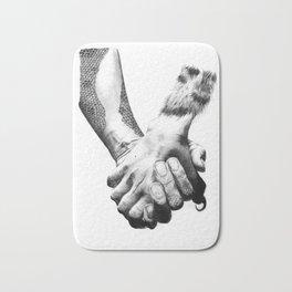 Human Nature: Hands Bath Mat