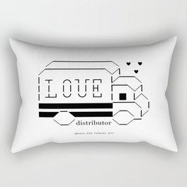 love distributor Rectangular Pillow