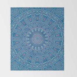 Oriental Kaleido 6 Throw Blanket