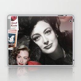 Joan Crawford Collage Portrait Laptop & iPad Skin