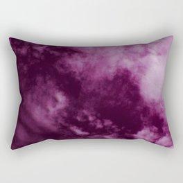 Magenta Sky Rectangular Pillow