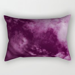Magenta Sky Rectangular Pillow