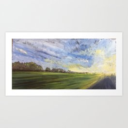 Afternoon Drive Art Print