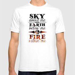 Sky Earth Fire T-shirt