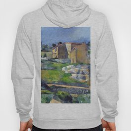1883 - Paul Cezanne - Houses in Provence, The Riaux Valley near L'Estaque Hoody
