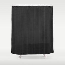 Art Deco Pin Stripe Shower Curtain