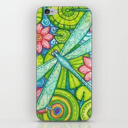 Dragonfly By iPhone Skin