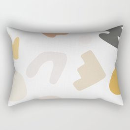 Abstract Shape Series - Autumn Color Study Rectangular Pillow