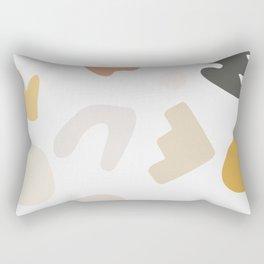 Abstract Shape Series - Autumn Color Study Rectangular Pillow