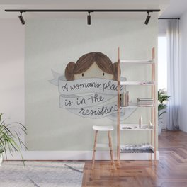 A Woman's Place Wall Mural