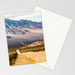 Titus Canyon. Death Valley National Park. California. USA Stationery Cards