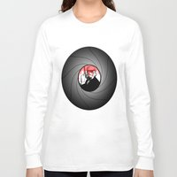 bond Long Sleeve T-shirts featuring Trooper Bond by FOREVER NERD