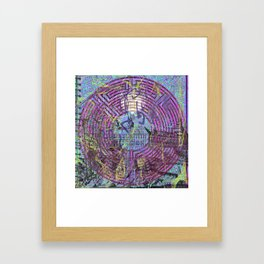 That Worm Is Trying To Kill Me! Framed Art Print