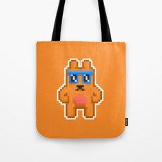 8Bit RaveBear Tote Bag