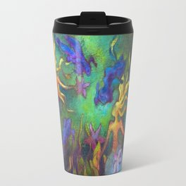 Hestia & The Mermaid PILLOW/SHOWER CURTAIN #A Travel Mug