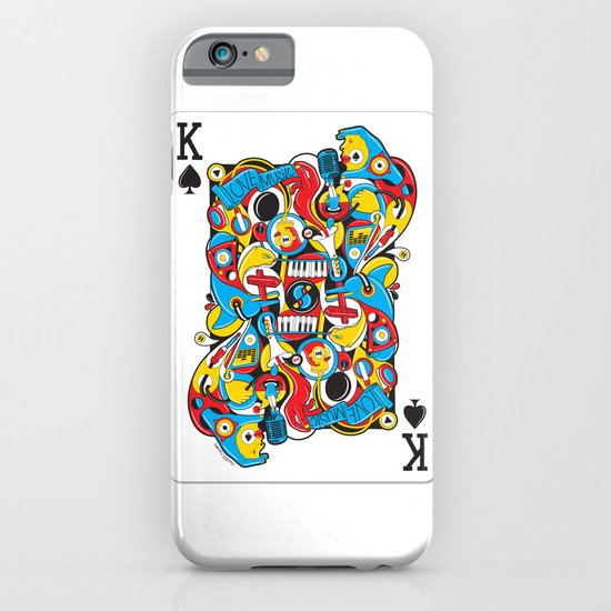 King Of Spades iPhone & iPod Case