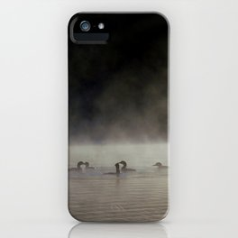 circle of loons iPhone Case