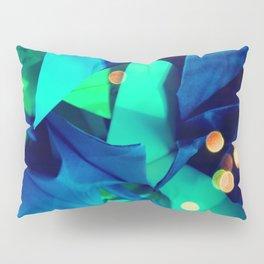 Senbazuru | greens n blues Pillow Sham