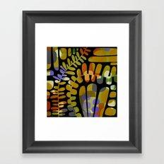 LEAFY MEANDERINGS Framed Art Print